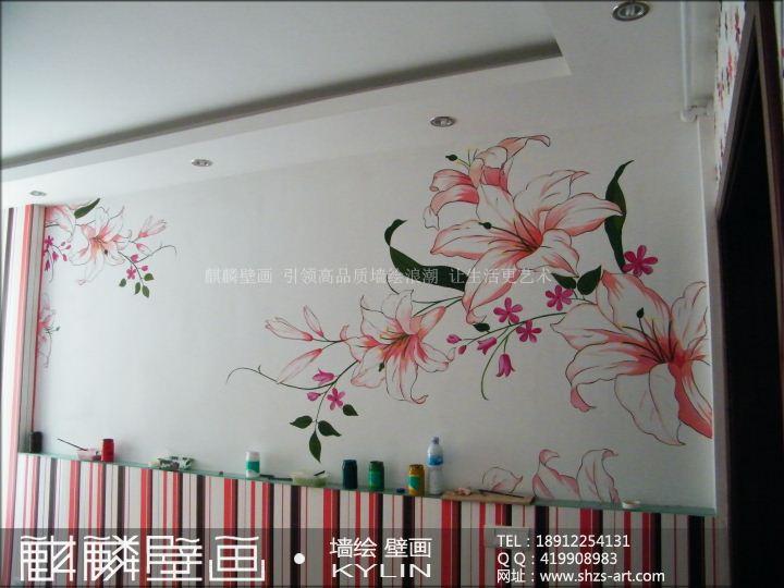 卧室墙绘,卧室黑白墙绘,墙绘图片大全卧室,墙绘创意卧室